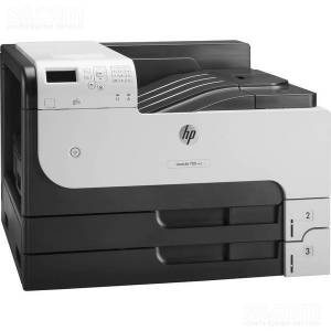 HP LaserJet Enterprise 700 Printer M712dn (A3, 1200dpi, 40ppm, 512Mb, 3trays 250+250+100, USB2.0/extUSBx2/GigEth/HIP/ePrint, 1y warr, repl. Q7543A, Q7545A)